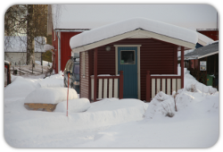 Cottage no. 1-4 wintertime